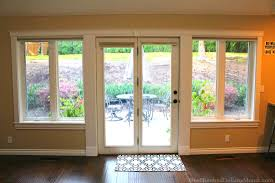 Patio Doors With Windows Window Treatments For Patio Doors Curtains Blinds Shades Or