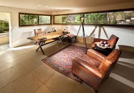 Walnut Home Office Desk Modern Walnut Desk Home Office Midcentury With Beige Ceiling Beam