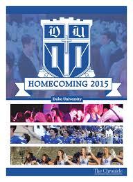 homecoming 2015 by duke chronicle issuu