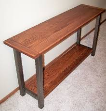 Red Oak Table by 12 Best Steel And Wood Furniture Images On Pinterest Table Legs