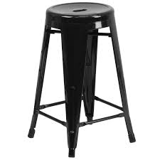 Counter Height Stool 24 U0027 U0027 High Backless Metal Indoor Outdoor Counter Height Stool With
