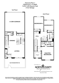 voscana floor plan 1 new townhomes in carlsbad ca by shea homes real estate voscana floor plan 1 new townhomes in carlsbad ca by shea homes
