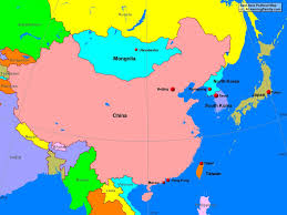 Blank Map Of East Asia by East Asia Political Map Roundtripticket Me