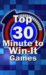top 30 minute to win it games ultimate party guide the budget