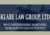 what is light duty work light duty status after a work injury video chicago il