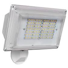 led security light fixtures amax led sl42wh 42 watt led security light 4000k