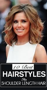 top hairstyles for medium length hair best hairstyles for shoulder length hair u2013 my top 10 stylish
