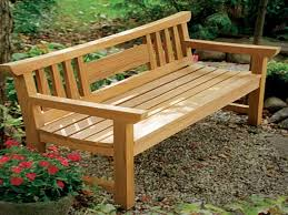 Wood Garden Bench Plans by Garden Bench Ideas Lawn U0026 Garden Corner Wooden Garden Bench