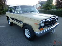 teal jeep for sale jeep cherokee chief s 1979 4x4 v8 5 9 litre auto sj fsj amc