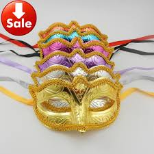 venetian mask for sale on sale gold lace party mask costume mardi gras venetian