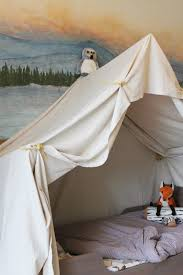 How To Build A Tent by Remodelaholic Camping Tent Bed In A Kid U0027s Woodland Bedroom