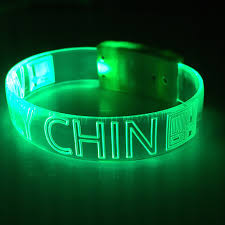 bracelet led images Light waves led wristbands personalized custom light up jpg