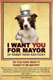 rabbit hash seeks new mayor rabbit hash historical society