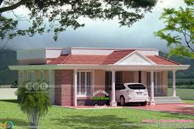 small and cute home 1800 square feet kerala home design and