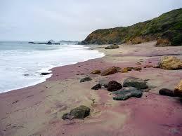 Sand Beach by Purple Sand Beaches Check This Out Purple Sand Beachs