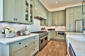 green kitchen cabinets with white countertops green kitchen cabinets design ideas designing idea