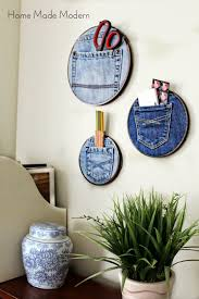 Home Made Modern by Denim Pocket Organizers Trend Alert Home Made Modern
