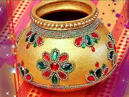 designer marriage pot garika muntha decoration marriage items