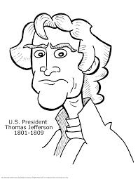 thomas jefferson coloring page free download