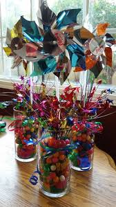 Candy Vases Centerpieces Centerpieces Were Ombre Stacked Candy In A Gorgeous Glass