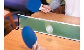 portable ping pong table black series portable ping pong table kit groupon