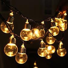 Light Bulb String Outdoor Aliexpress Buy Led Globe Bulb String Lights