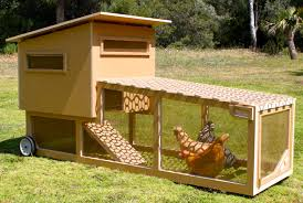 Chicken Coop Kit The Chicken Tractor A Coop For The Modernist Chicken And An