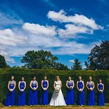 cobalt blue bridesmaid dresses bright and bold cobalt blue bridesmaid dresses hitched co uk