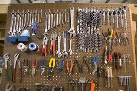 Kitchen Pegboard Ideas Tools On Pegboard Explore Organizations And Garage Organization