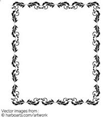 ornament frame vector graphic