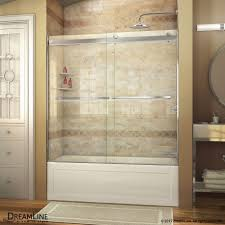Sliding Bathtub Shower Doors Essence Sliding Tub Door Dreamline