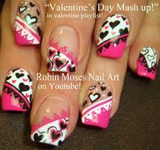 images of valentine nail designs image collections nail art designs