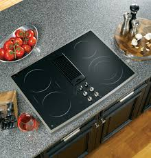 Downdraft Cooktops Ge Profile Series 30 Downdraft Electric Cooktop Pp989snss Ge