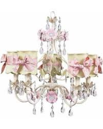 Ivory Chandelier Deal Alert 5 Arm Ivory Flower Garden Chandelier With Scalloped Shades