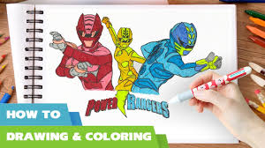 coloring pages power rangers 2017 movie it u0027s morphin time