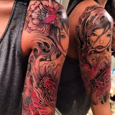 japanese half sleeve tattoo tatuaże pinterest japanese
