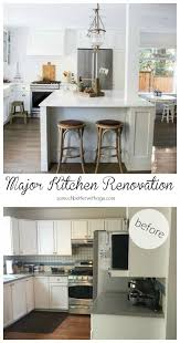 Kitchen Remodel Before After by My Big Beautiful Kitchen Renovation Before And After Photos