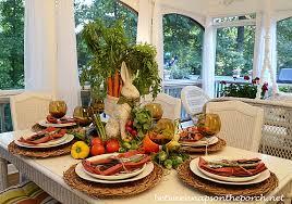 Garden Table Decor Fall Table Setting With Limelight Hydrangea Centerpiece