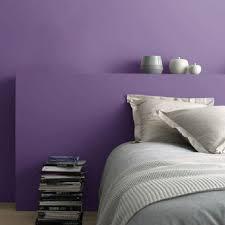 peinture chambre couleur violet et dépolluante castorama