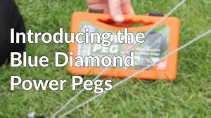 Awning Pegs Blue Diamond Power Awning And Tent Pegs Youtube