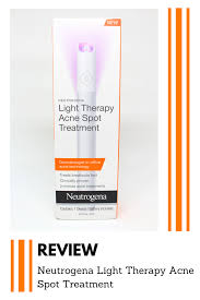 neutrogena light therapy acne spot treatment review neutrogena light therapy acne spot treatment review macyxmakeup
