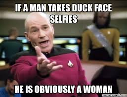 Duck Face Meme - image jpg