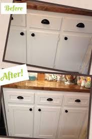 white oak wood black raised door reface kitchen cabinets diy