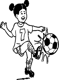 playing soccer playing football coloring page wecoloringpage