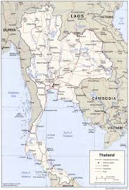 Map Of Thailand Map Of Thailand Political Map Worldofmaps Net Online Maps