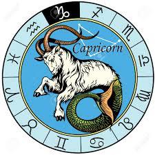 capricorn astrological zodiac sign image isolated on white