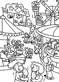 carnival themed coloring pages pict 31936 gianfreda net