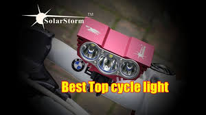 best led bike lights review best bicycle light led cycling front bike lights review youtube
