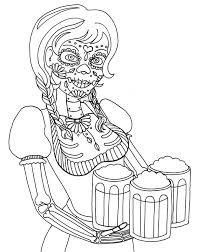 yucca flats n m wenchkin u0027s coloring pages dia de los octoberfest