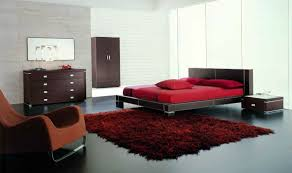 bedroom breathtaking furry red bedroom area rug and modern red